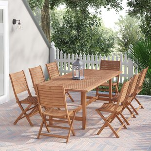 Elsmere 9 Piece Teak Dining Set
