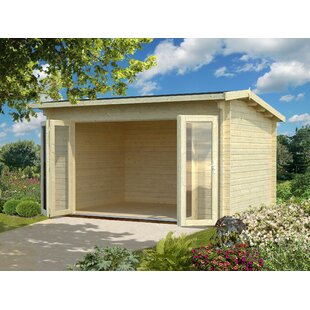Yerington 13.5 X 10.5 Ft. Tongue & Groove Summer House By Sol 72 Outdoor