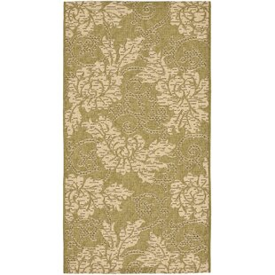 Laurel Olive/Creme Indoor/Outdoor Area Rug