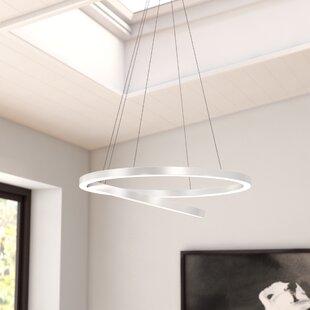 Wade Logan Marcelo Duo 2-Light LED Geometric Chandelier
