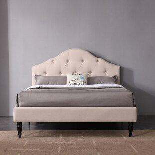 Charlton Home Etelvina Upholstered Platform Bed