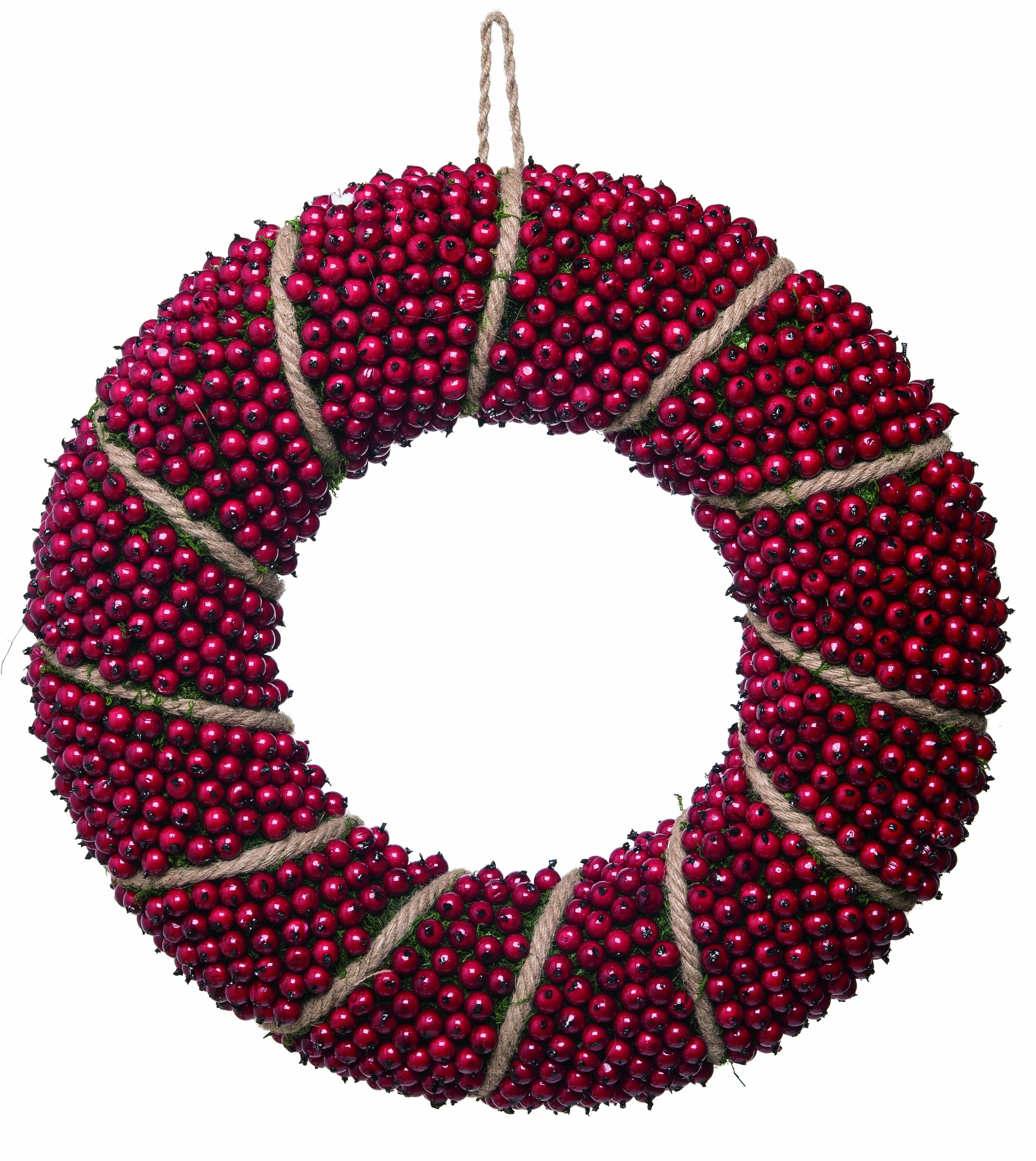 The Holiday Aisle Berry 20 Foam Wreath Wayfair