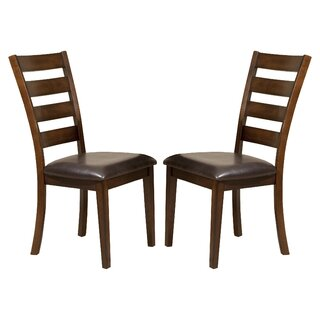 Whisenhunt Ladder Back Side Chair (Set of 2) by Millwood Pines SKU:CE937852 Reviews