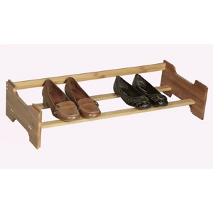Richards Homewares Shoe Storage 1 Tier Stackable Shoe Rack
