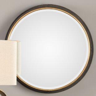 Cayden Sturdivant Round Accent Mirror by House of Hampton