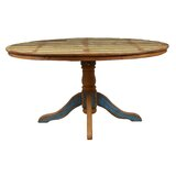 Fiscus Peroba Solid Wood Dining Table by Loon Peak®