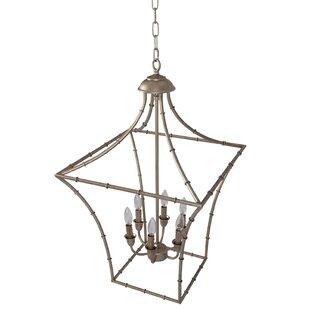 Wrought iron candle chandelier wayfair machado 6 light lantern chandelier aloadofball Image collections