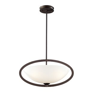 Ebern Designs Hamden 3-Light Bowl Pendant