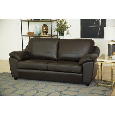 Red Barrel Studio Riegel Leather Sofa & Reviews | Wayfair