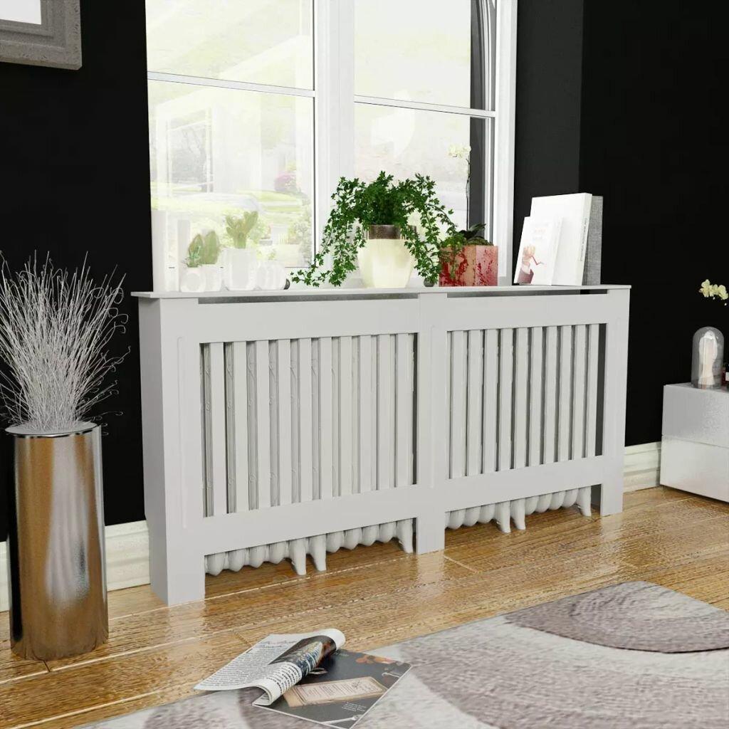 Belfry Heating Veronica Extra Large Radiator Cover Reviews Wayfair Co Uk