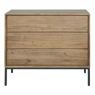 Compare Stallings 3 Drawer Chest by Union Rustic