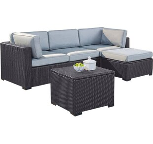 Dinah 4 Piece Sectional Seating Group with Cushions