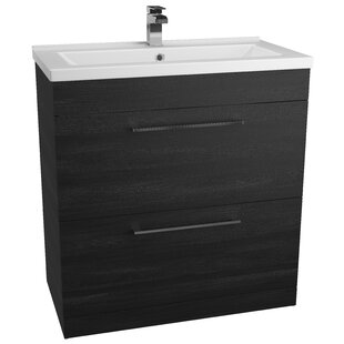 Lewes 80cm Free-Standing Vanity Unit Base Only By Ebern Designs