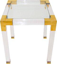 ModShop Lucite Trousdale End Table
