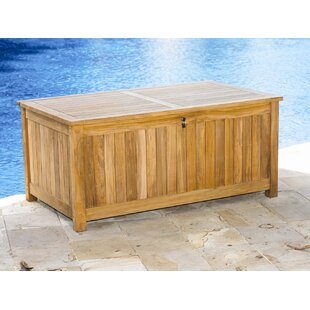 Three Birds Casual Le Spa 165 Gallon Teak Deck Box