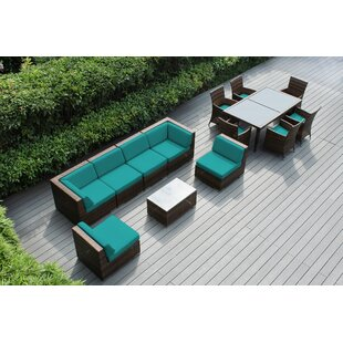 Bannock 14 Piece Sectional Set with Cushions By Orren Ellis