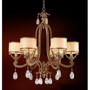 Astoria Grand Cyra 6-Light Shaded Chandelier