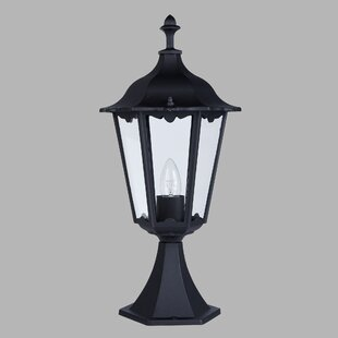 Amalia Small Pedestal 1 Light Pier Mount Light By Sol 72 Outdoor