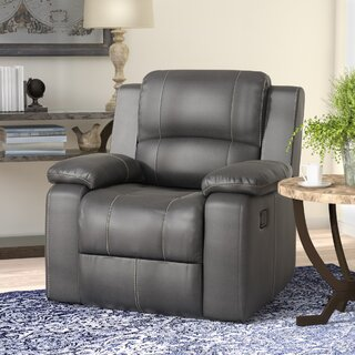 Wellersburg Manual Glider Recliner by Darby Home Co SKU:CA633258 Check Price