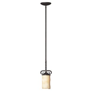 Jamar 1-Light Cylinder Pendant by Darby Home Co