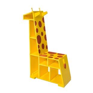 Trend Zoo Kingdom Giraffe 31.4 Bookcase by Teamson Kids Reviews (2019) & Buyer's Guide