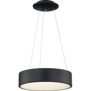 Ebern Designs Lucien 1-Light LED Drum Pen..