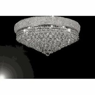 Rosdorf Park Hooper 14-Lights LED Flush Mount