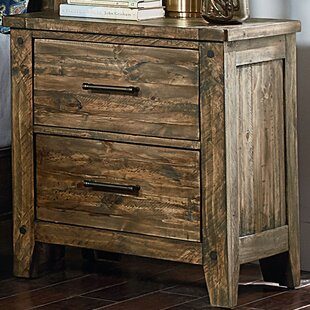 Burleigh 2 Drawer Nightstand by Loon Peak