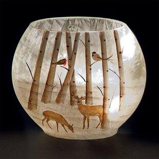 Reindeer Lit Oval Glass Lighting Accessory Image