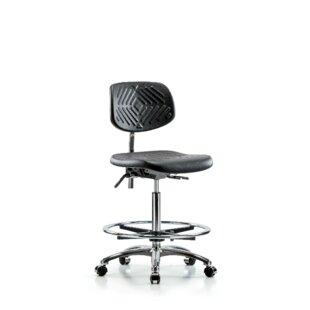 Shaniya Drafting Chair by Symple Stuff