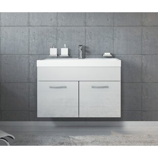 Kaelyn 800mm Wall Hung Single Vanity Unit By Belfry Bathroom