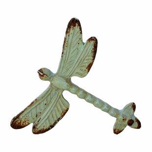 Vintage Verdigris Dragonfly 2 3/4