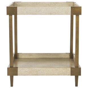 Bargain Martins End Table by 17 Stories
