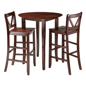fiona 3 piece pub table set