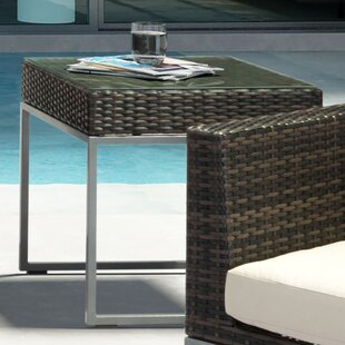 Glass  Side Table by Brayden Studio