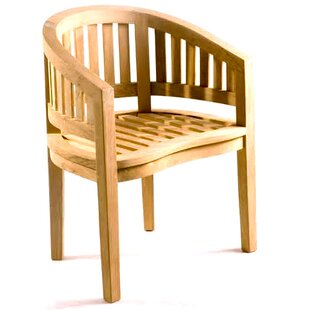 D-Art Collection Island Teak Patio Chair