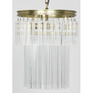 Noir Toby 4-Light Drum Chandelier
