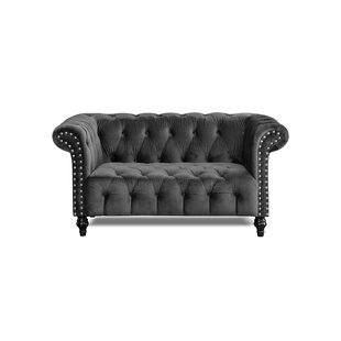 Rutgers 2 Seater Chesterfield Loveseat By Ophelia & Co.