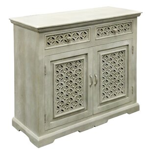Perez 2 Door and 2 Drawer Accent Cabinet by One Allium Way