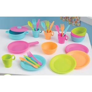 Play Kitchen Dishes play kitchen sets & accessories | wayfair
