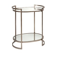 Shick Mirror End Table by Willa Arlo Interiors