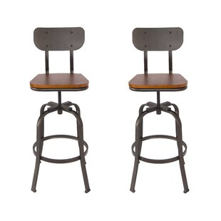 Miraculous Garon Adjustable Height Swivel Bar Stool Gamerscity Chair Design For Home Gamerscityorg