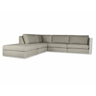Steffi Right Arm L-Shape Left Sectional with Ottoman