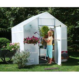 Solexx Garden Master 8 Ft. W x 8 Ft. D Greenhouse