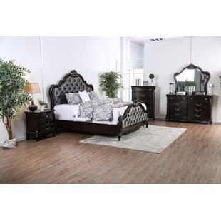 Demar Upholstered Panel Configurable Bedroom Set