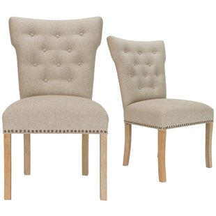 Laurel Foundry Modern Farmhouse Schueller Upholstered Dining Chair (Set of 2)