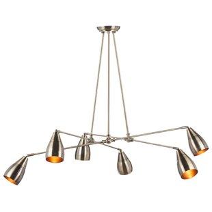Lanister 8-Light Sputnik Chandelier by Nuevo