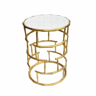 Rojo 16 Bamboo End Table