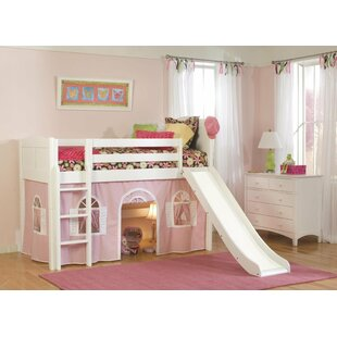 Bonneau Low Loft Bed by Harriet Bee