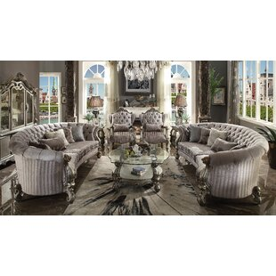 Price comparison Bermuda Curved Living Room Collection by Astoria Grand Reviews (2019) & Buyer's Guide